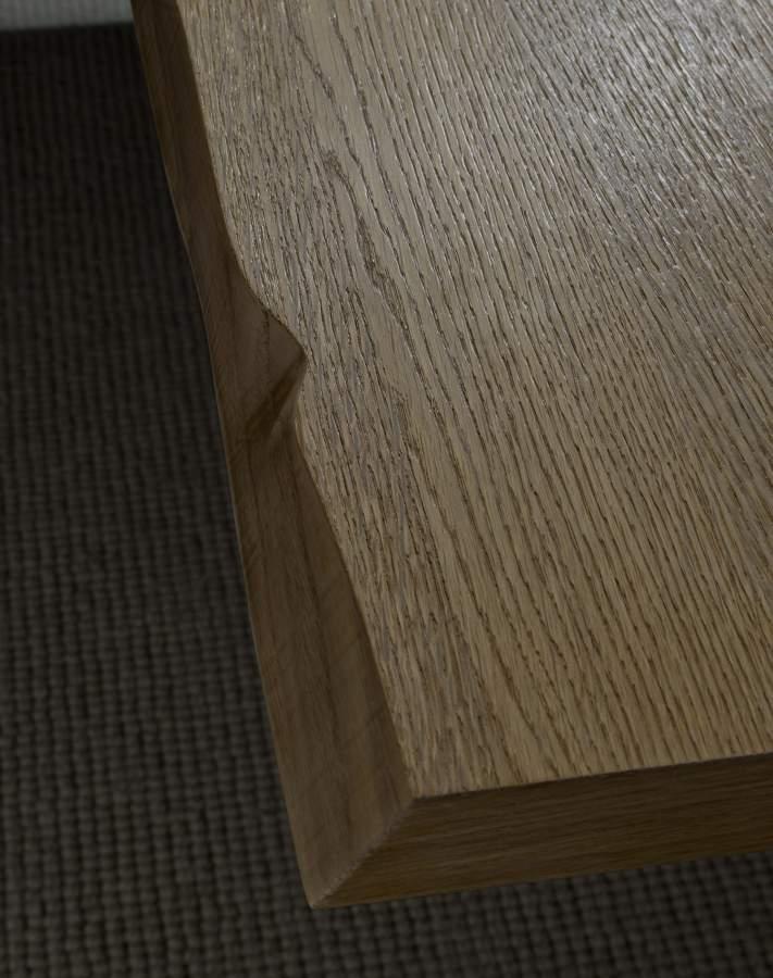 Bordo scortecciato tavolo geronimo rettangolare milanomondo for Vergani arredamenti