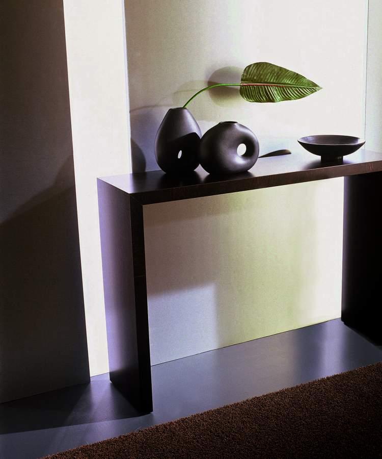 Consolle moderna in legno diletta milanomondo for Vergani arredamenti