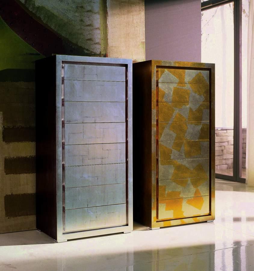 Cassettiera moderna in legno oliver milanomondo for Vergani arredamenti