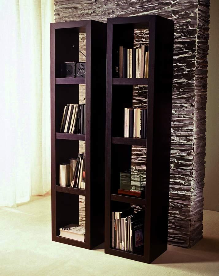 Libreria in legno moderna buccheis milanomondo for Vergani arredamenti
