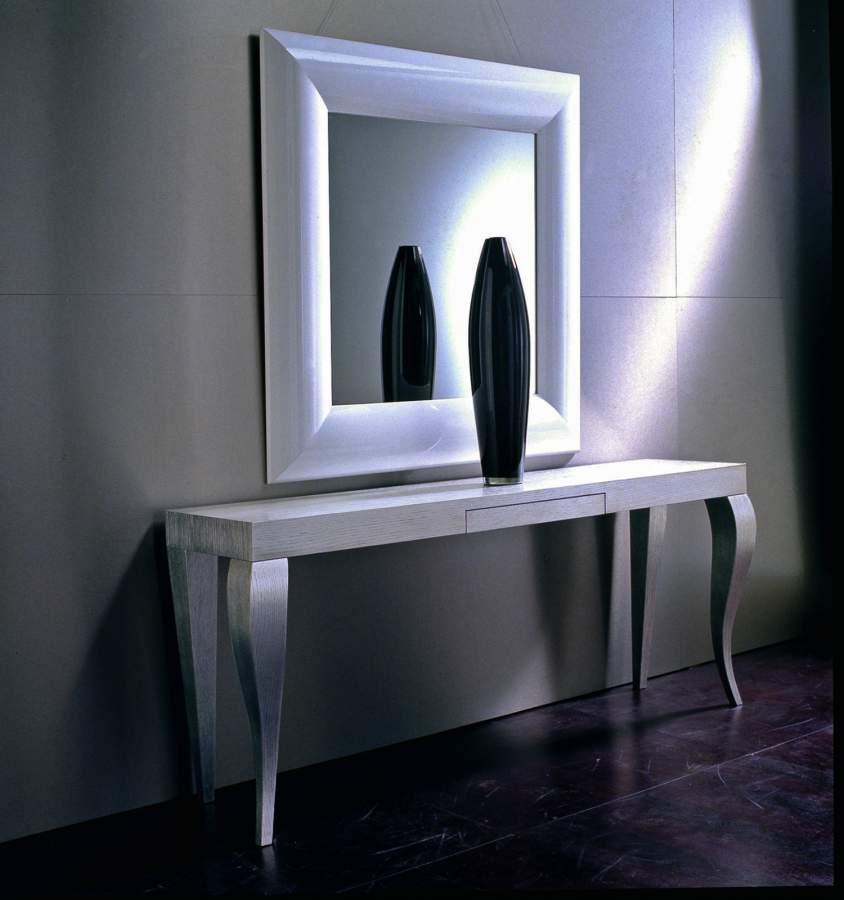 Wooden console table ludovica milanomondo for Vergani arredamenti