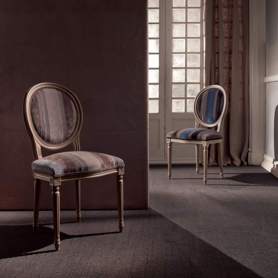 Louis XVI style carved chair Luigina