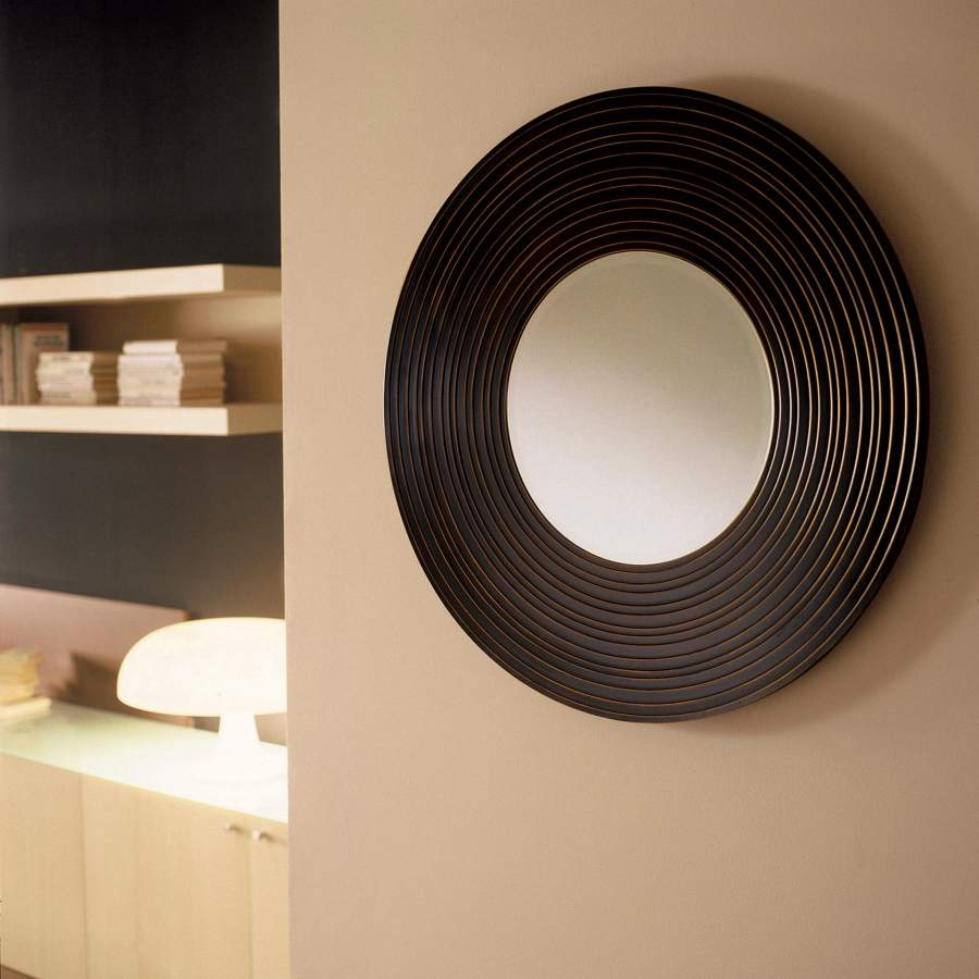Wooden Mirror Moon