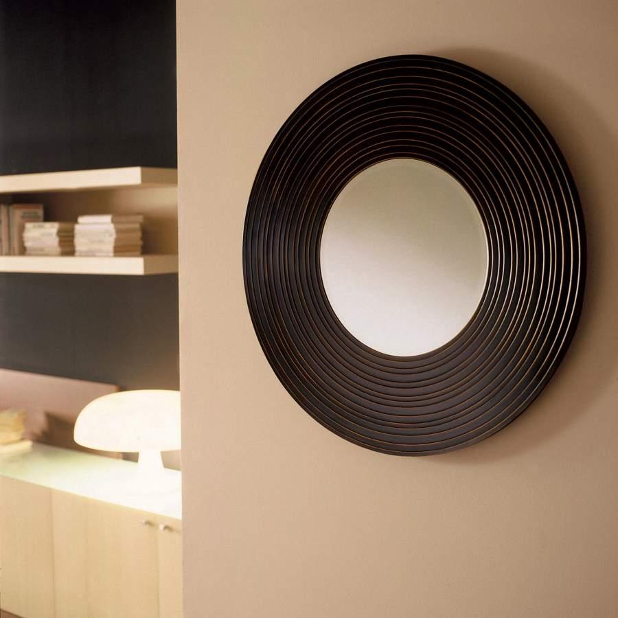 Wooden Mirror Moon