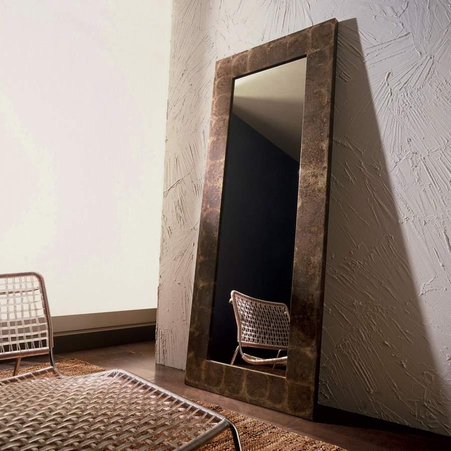 Ground Mirror Old Iron