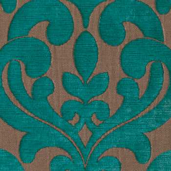 Light Blue Damask