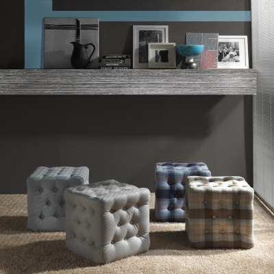 Sitting pouff Bourby collection