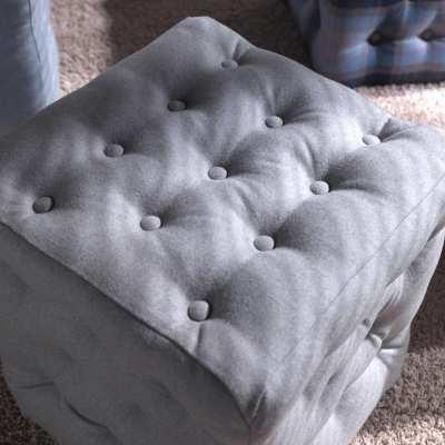 Sitting pouff Bourby top