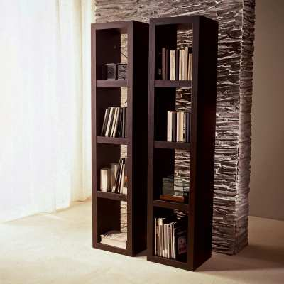 Contemporary bookcase buccheis