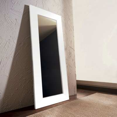 Wooden ground mirror
