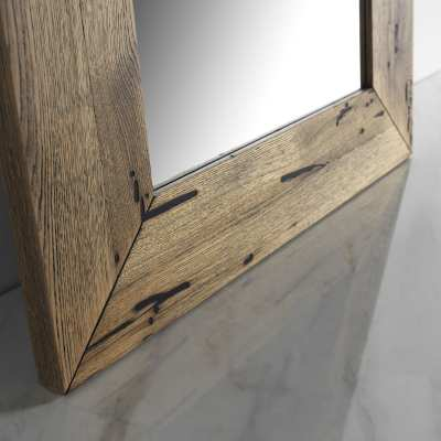 Venice's Briccole Level Mirror frame detail bottom