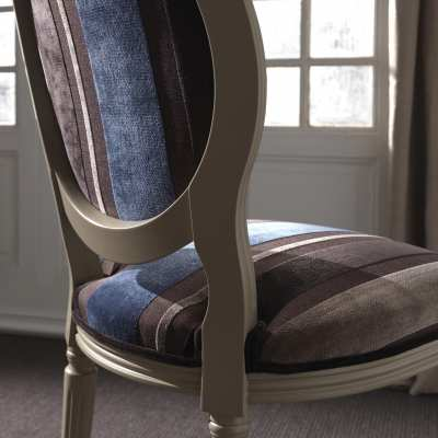 sitting chair Luigina particular finish