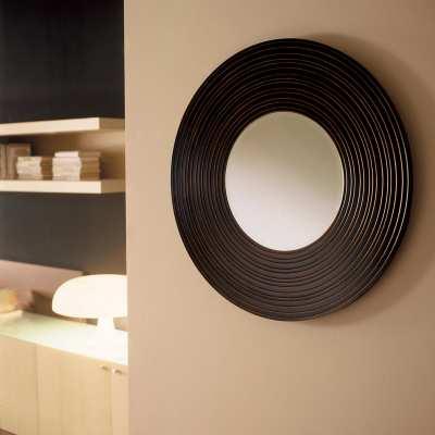 Specchio in legno Moon