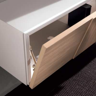 Wall Unit Pensili sospesi open drawer