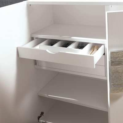 Cupboard Quadrante drawer