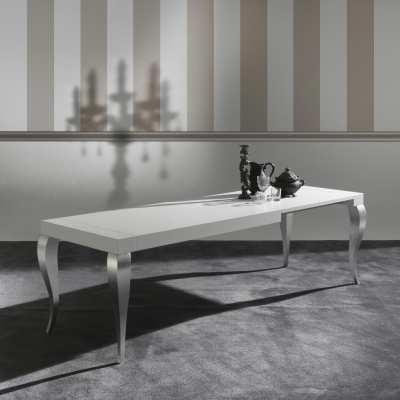 Tavolo moderno Timoteo lato estensione