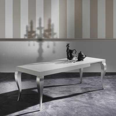 Tavolo moderno allungabile Timoteo