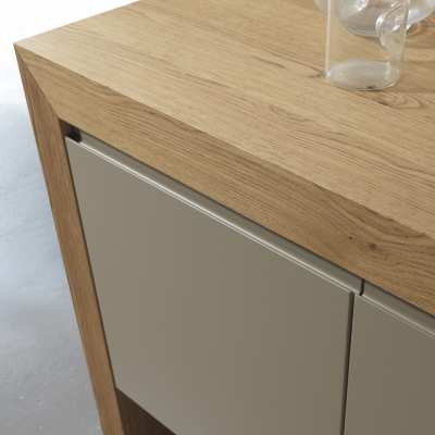 Contemporary wooden cupboard