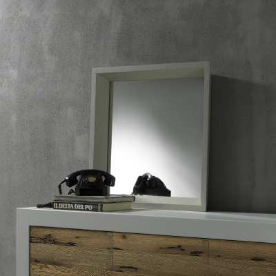 Flared mirror Wash with frame